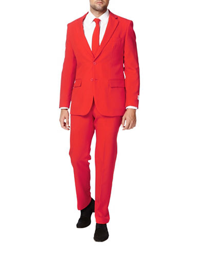 Opposuits Red Devil Slim-Fit Three-Piece Suit Set-RED-52 Regular