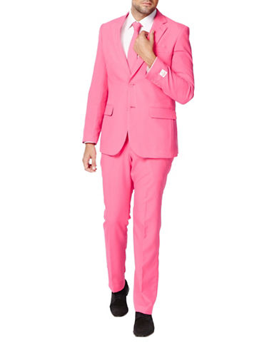 Opposuits Mr. Pink Slim-Fit Three-Piece Suit-PINK-50 Regular