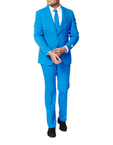 Opposuits Blue Steel Slim-Fit Three-Piece Suit Set-BLUE-52 Regular
