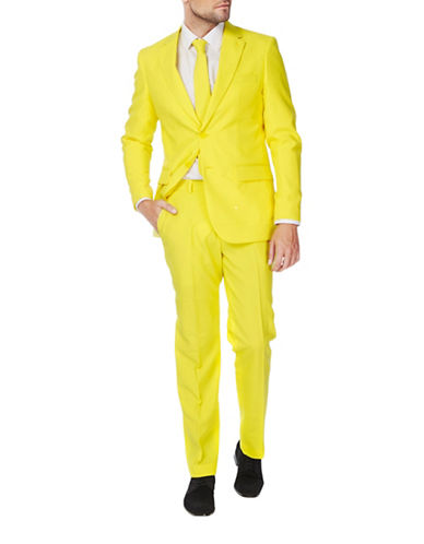 Opposuits Yellow Fellow Three-Piece Suit Set-YELLOW-48