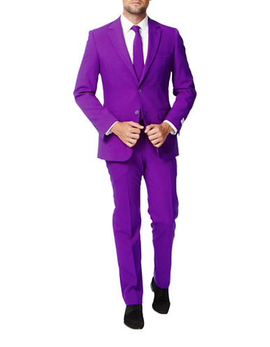 Opposuits Purple Prince Slim-Fit Three-Piece Suit Set-PURPLE-50 Regular