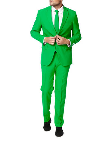 Opposuits Evergreen Three-Piece Suit Set-GREEN-50 Regular