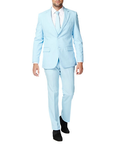 Opposuits Cool Blue Slim-Fit Three-Piece Suit Set-BLUE-52