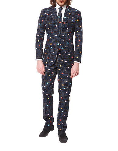 Opposuits Pac-Man Three-Piece Suit Set-BLACK-52