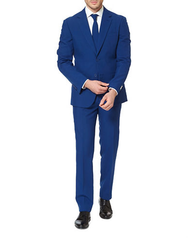Opposuits Navy Royal Slim-Fit Three-Piece Suit Set-BLUE-50
