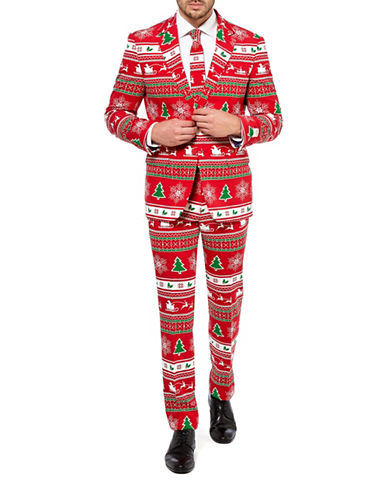 Opposuits Winter Wonderland Three-Piece Set-RED-46 Regular