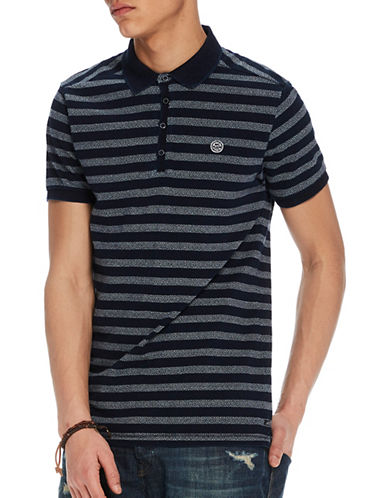 Scotch And Soda Regular-Fit Polo-BLUE-Medium