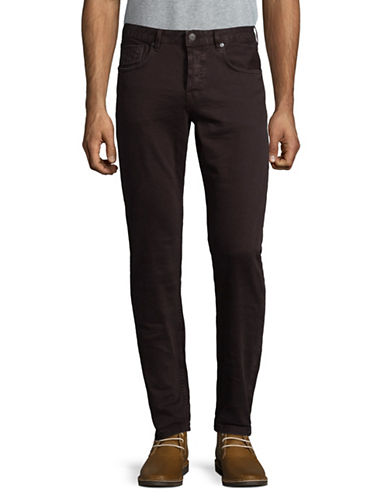 Scotch And Soda Dylan Classic Pants-PURPLE-36