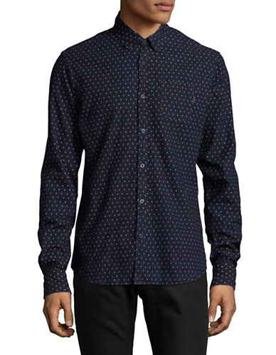 Scotch And Soda Allover Printed Sport Shirt-MULTI-COLOURED-Medium