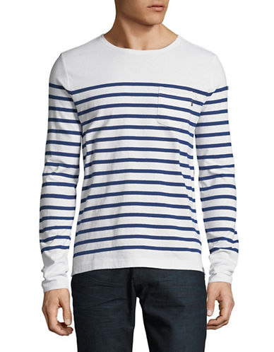 Scotch And Soda Breton Striped Sweater-MULTI-Medium