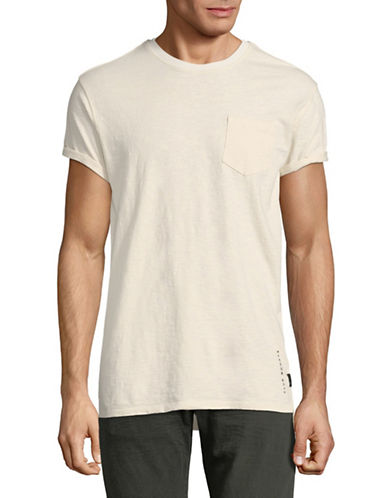 Scotch And Soda Club Nomade Cotton T-Shirt-WHITE-X-Large