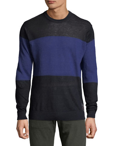 Scotch And Soda Colourblock Sweatshirt-MULTI-Small