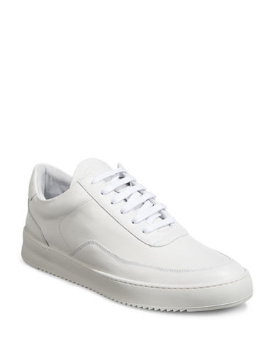 Filling Pieces Mondo Leather Sneakers-WHITE-42