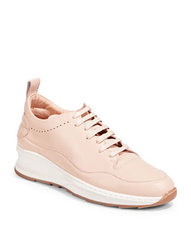 Filling Pieces Stell Runner Leather Sneakers-BEIGE-41