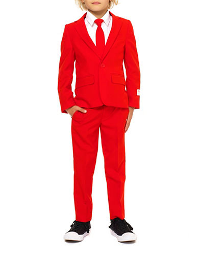 Opposuits Slim-Fit Red Devil Suit-RED-4