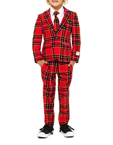 Opposuits Slim-Fit Lumberjack Suit-RED-4