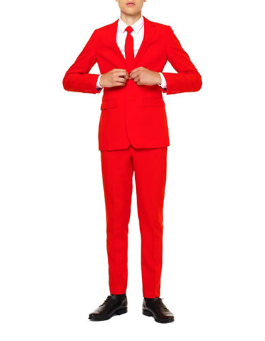 Opposuits Slim-Fit Red Devil Suit-RED-12