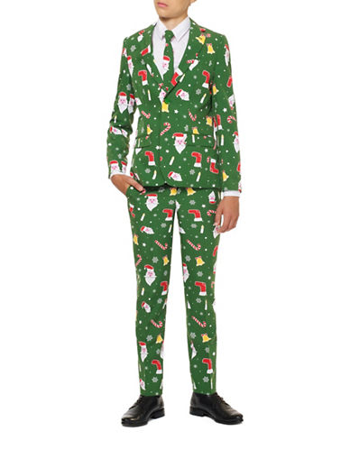 Opposuits Slim-Fit Santaboss Suit-GREEN-16
