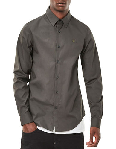 G-Star Raw Stretch Sport Shirt-GREY-Large
