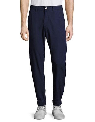 G-Star Raw Bronson Cuffed Pindot Pants-BLUE-38X32