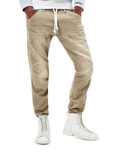 G-Star Raw Drawstring Trainer Pants-BEIGE-38X32