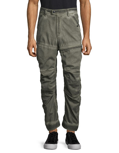 G-Star Raw Rackam US Cotton Cargo Worker Pants-GREY-33X32
