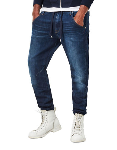 G-Star Raw Brantley Arc 3D Sport Tapered Jeans-BLUE-31X32