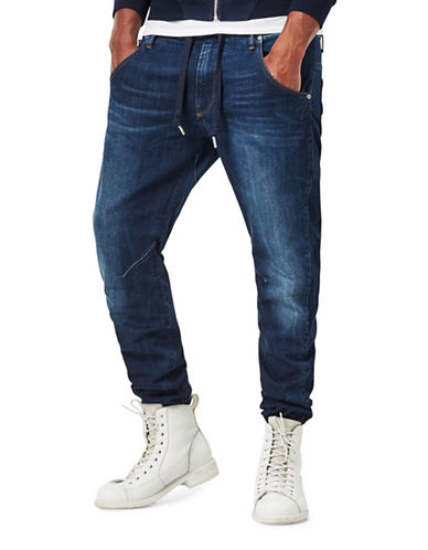 G-Star Raw Brantley Arc 3D Sport Tapered Jeans-BLUE-33X32