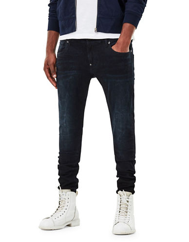 G-Star Raw Super Slim Jeans-BLUE-33X32