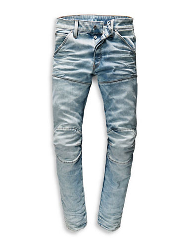 G-Star Raw Lead Stretch Slim Jeans-BLUE-34X34