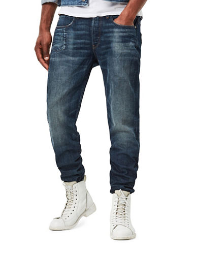 G-Star Raw Hedrove Tapered Higa Jeans-BLUE-36X32