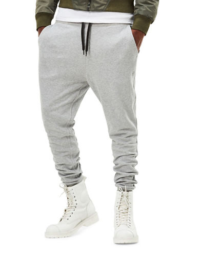 G-Star Raw Core Heathered Drawstring Sherland Sweatpants-GREY-Large