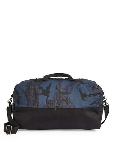G-Star Raw Denim Camo Duffle Bag-BLUE-One Size