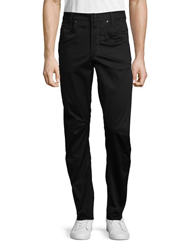 G-Star Raw Dark Tapered-Fit Pants-BLACK-34X34