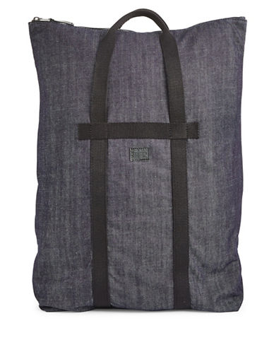 G-Star Raw Relaxed Denim Back Pack-BLUE-One Size