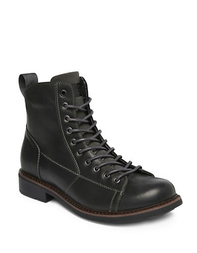 G-Star Raw Roofer Leather Boots-BLACK-EU 42/US 9