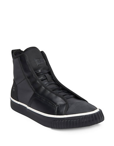G-Star Raw Scuba Mid-Top Sneakers-BLACK-EU 42/US 9