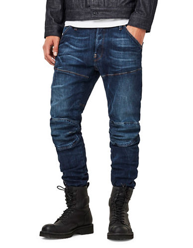G-Star Raw 5620 3D Slim-Fit Jeans-BLUE-34X34