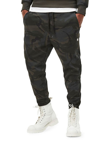 G-Star Raw Core Cropped Sweatpants-GREY-Medium