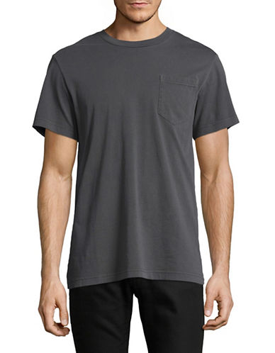 G-Star Raw Classic Pocket Crew Neck T-Shirt-BLACK-X-Small