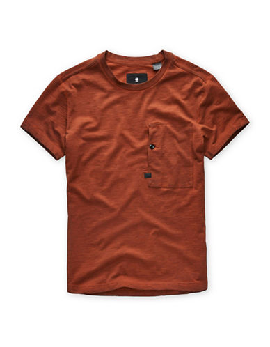 G-Star Raw Stalt Relaxed Cotton T-Shirt-RED-X-Small