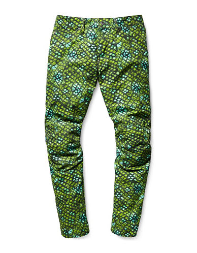 G-Star Raw Lucas Iguana Cotton Jeans-GREEN-38X34