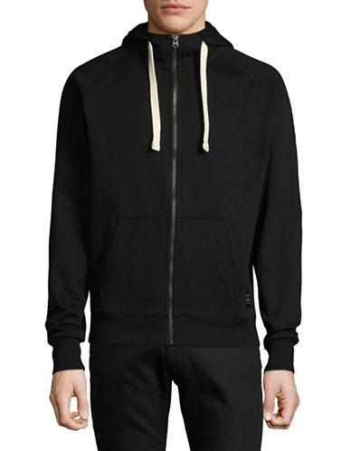 G-Star Raw Classic Zip-Front Hoodie-BLACK-Medium