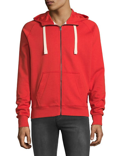 G-Star Raw Sherland Full Zip Hoodie-RED-X-Large 89669301_RED_X-Large