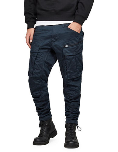 G-Star Raw Rovic Zip 3D Tapered Cargo Pants-BLUE-33X34