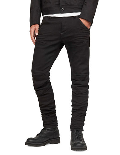 G-Star Raw 3D-Slim Moto Pants-BLACK-32X34