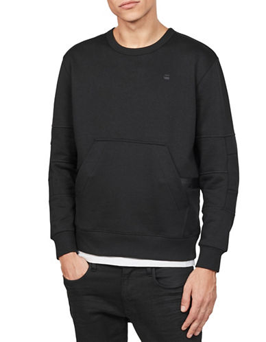 G-Star Raw Rackam Panel Sweatshirt-BLACK-Small