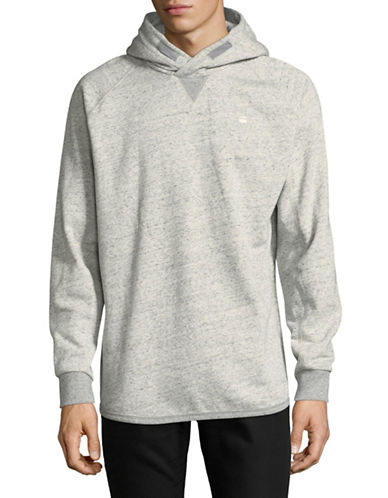 G-Star Raw Heathered Hooded Sweatshirt-GREY-Small 89748872_GREY_Small