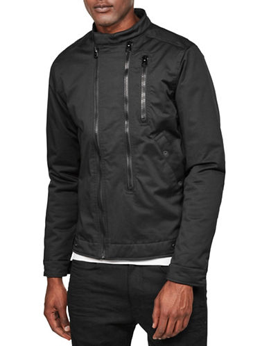G-Star Raw Deline Biker Jacket-BLACK-XX-Large