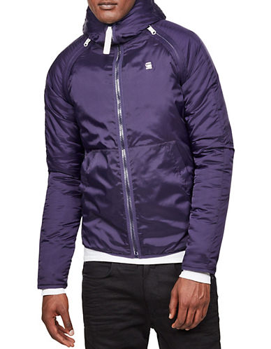 G-Star Raw Strett Sport Padded Over shirt-PURPLE-X-Large